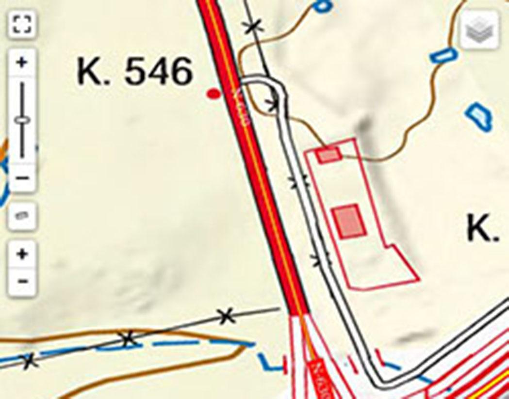 Visor punto kilométrico