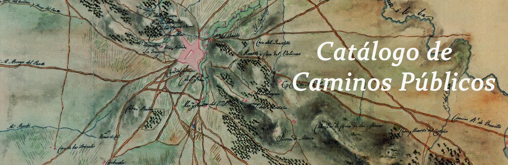 Aprobación provisional del catálogo de Caminos Públicos del Término Municipal de Cáceres.   Abierto periodo de alegaciones hasta el 29/11/2015
